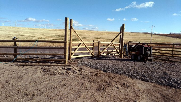 Treated Split Ranch Rail